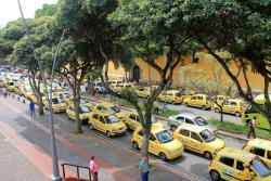 Con 'pitazón', taxistas exigieron que regrese el Pico y Placa a Bucaramanga