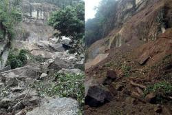 Derrumbe impide paso a sitio turístico de Santander