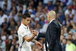 ¿Se despidió James del Real Madrid con este aplauso?