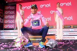 """Nairo Quintana ve """"difícil"""" mantener el liderato del Giro"""
