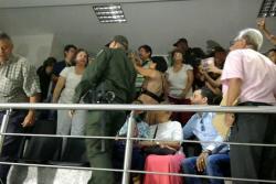 Video registró protesta en la Asamblea de Santander contra Alejandro Ordóñez