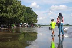 Videos retratan inundaciones en El Muelle y otros sectores de Barrancabermeja