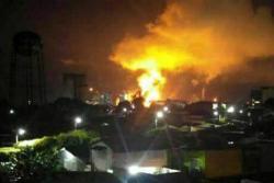 Polémica por presunto incendio en Refinería de Barrancabermeja