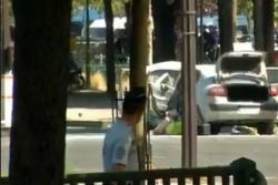 Conductor armado choca contra auto de la Policía en Francia