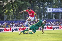 Falcao participó en el único gol de su equipo en el empate ante el Fenerbahçe