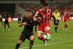 No se pierda la actuación de James Rodríguez contra el Arsenal