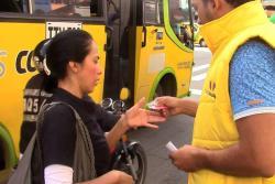 Así arrancaron los viajes con un solo pasaje entre buses convencionales y Metrolínea