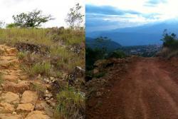Destruyen camino Real de 800 años para construir una carretera en Santander