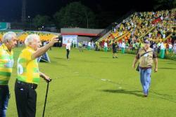 Así fue el sentido homenaje de la barra del Atlético Bucaramanga a Américo Montanini