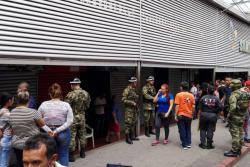 CTI y Fiscalía realizaron allanamientos en Sanbazar de Bucaramanga