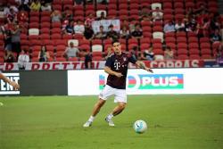 James Rodríguez jugó 45 minutos en la derrota del Bayern ante el Inter de Milán