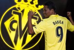 El Villarreal presentó a Carlos Bacca como su nuevo refuerzo