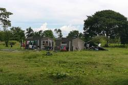 Por más de 24 horas, los habitantes de El Vijagual y El Guayabo estuvieron sin luz ni agua.