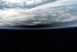 Así se vio el eclipse solar desde la Estación Espacial Internacional