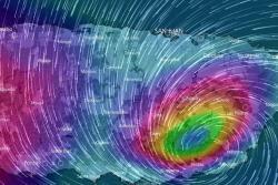 María alcanzó Puerto Rico menos de dos semanas después de sufrir el impacto de otro huracán.