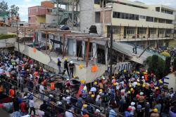 Siga en directo operación de rescate de niña mexicana en escuela derrumbada