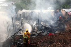 Incendio consumió viviendas en asentamiento de Barrancabermeja