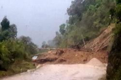 Reabren la vía Bucaramanga - Málaga, afectada por un derrumbe