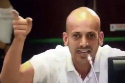 Buscarán ayuda profesional para el concejal que pronunció extraño discurso en Medellín