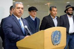 Ellos son los elegidos para verificar el cese del fuego entre Gobierno y Eln