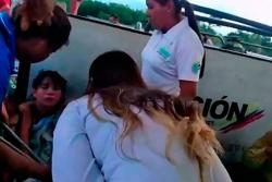 Angustiantes momentos en puente fronterizo con Venezuela por balacera