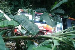 Un grave accidente ocurrió en la vía que de Bucaramanga conduce a Barrancabermeja