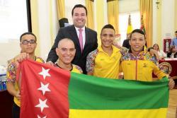 Rifirrafe entre Gobernador y atletas por apoyo al deporte en Santander