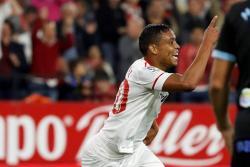 Con gol de Muriel, el Sevilla le ganó 2-1 al Celta