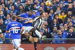 Con gol de Duván Zapata, el Sampdoria hunde al Juventus en la liga italiana