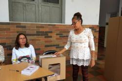 Con baja participación, transcurrió la consulta Liberal en Bucaramanga