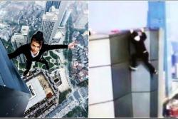 Video registró momento en que un youtuber cayó de un rascacielos