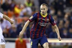 """Andrés Iniesta cree que Yerry Mina sería un """"gran fichaje"""" para Barcelona"""