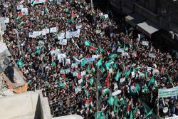 Multitudinaria protesta en Jordania contra la decisión de Trump sobre Jerusalén