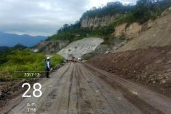 Vía Bucaramanga - Barrancabermeja sigue con cierre total