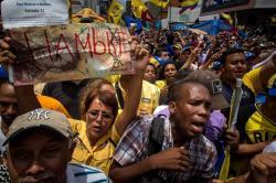 Video registró nuevos saqueos por hambre en Venezuela