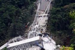Siete muertos por colapso de puente en construcción entre Bogotá y Villavicencio