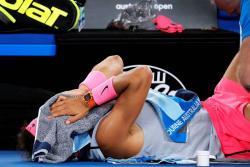 Esta es la segunda vez que Rafael Nadal abandona un encuentro en el Abierto de Australia.