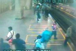 Lanzaron bomba lacrimógena en estación de metro de Caracas, Venezuela