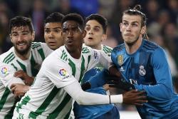 En un emocionante partido, Real Madrid venció 5-3 al Betis