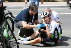Ciclista Cavendish sufrió conmoción cerebral en el Tour de Abu Dabhi