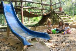 Denuncian deterioro del parque La Flora de Bucaramanga