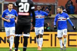 Con gol del colombiano Duván Zapata Sampdoria venció 2-1 a Udinese