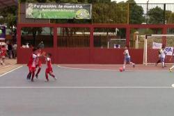 Petizos le ganó a La Feria-Real Madrid y busca revalidar el título infantil del Interbarrios