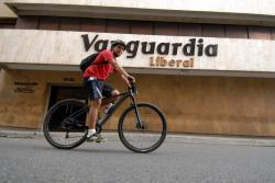 Así llegué al trabajo en bicicleta, en el día sin carro en Bucaramanga