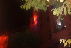 Incendio afectó a un apartamento en Floridablanca