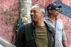 Perro callejero arruinó una toma de la nueva película de Will Smith en Cartagena