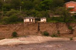 Capitanejo no quiere que se lo 'trague' el río Chicamocha