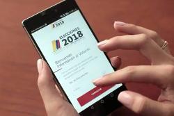 La aplicación ofrece, además, la información de los candidatos presidenciales.