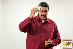 """""""Haremos respetar la voluntad de los venezolanos"""": Maduro sobre elecciones presidenciales"""