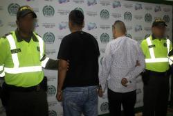 Cuatro capturados por tráfico de estupefacientes dejan dos operativos en Bucaramanga